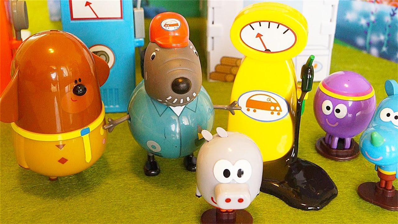 Hey duggee e i lupetti visitano il garage di nonno cane for 2 pacchetti di garage di storia