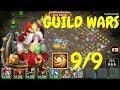 9/9 SL Commodora In Guild Wars l Castle Clash