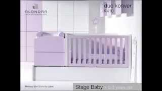 Evolution Duo Convertible Crib - Alondra