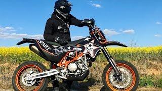 C'EST VIOLENT! MA NOUVELLE MOTO KTM 690 SMCR