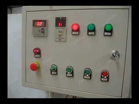 Electric Heating Cocoa Bean  Roasting Machine