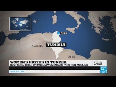 Tunisia: Authorities lift ban on Muslim women marrying non-Muslims