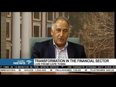 Transformation in the financial sector: Cas Coovadia