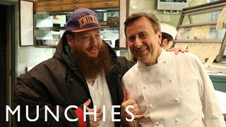 Action Bronson Samples the Finest Duck in NYC