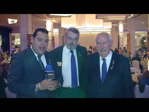 Visita del Presidente Internacional de Lions a Marbella