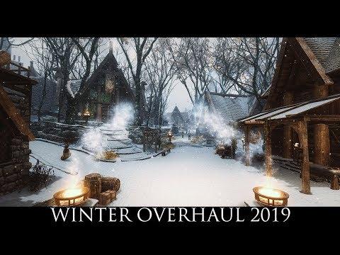 TES V - Skyrim Mods: Winter Overhaul 2019