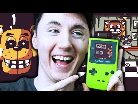 FNAF ON GAMEBOY?! || Five Nights at Freddy's - Pocket Horror thumbnail