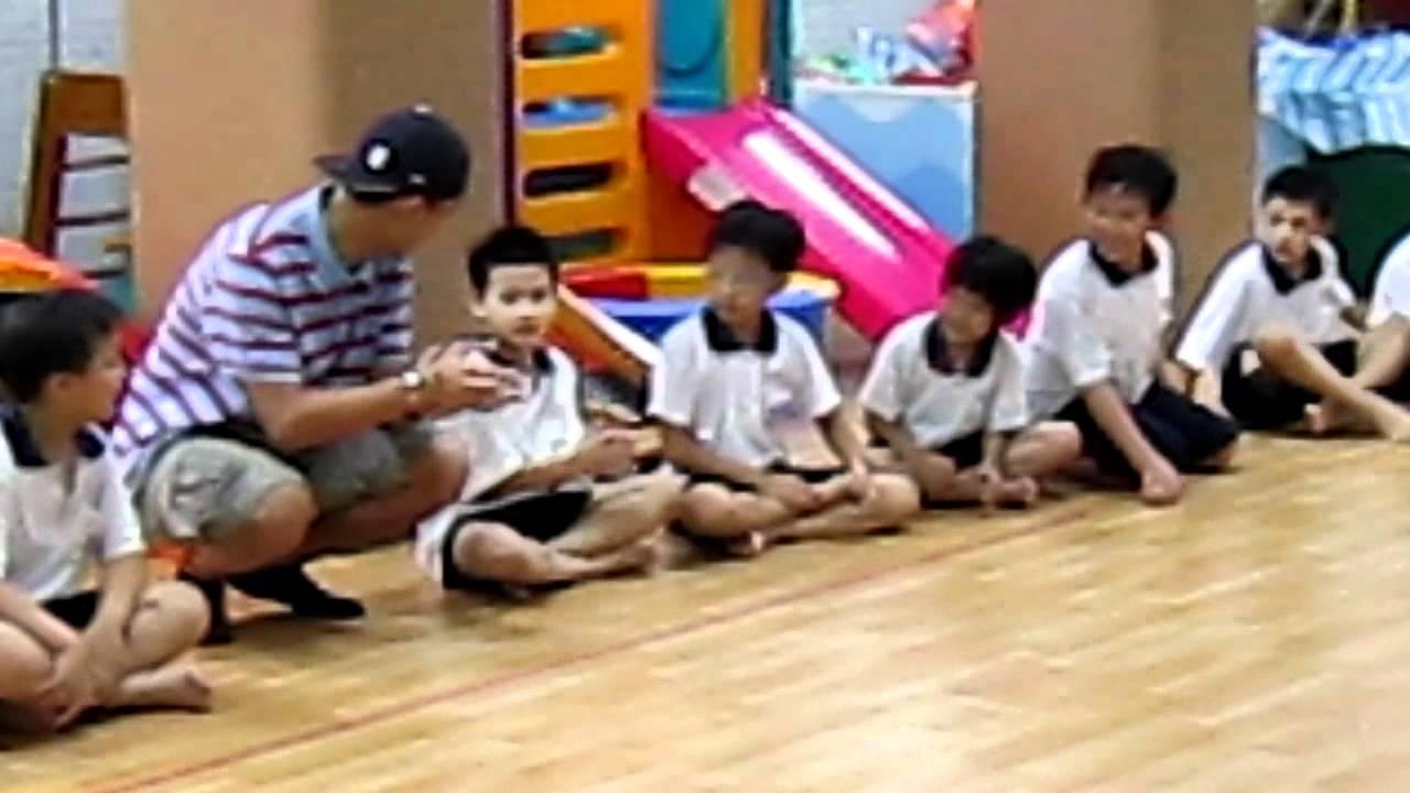 戲劇遊戲課程-拍手接龍 - YouTube