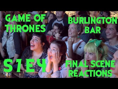 GAME OF THRONES Reactions at Burlington Bar /// S7 Episode 4 FINAL SCENE \\\