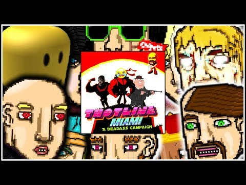 THOTLINE MIAMI | Hotline Miami 2: Wrong Number Level Editor [FULL CAMPAIGN]