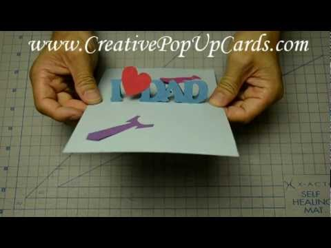 Easy Father S Day Pop Up Card Tutorial