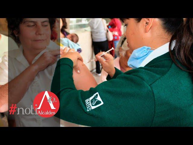 NotiAlcaldes: El IMSS arranca vacunación contra la influenza