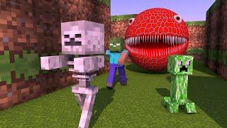 Minecraft Vs Monster Pacman
