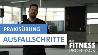 Praxisübung: Ausfallschritte / Bulgarian Split Squat