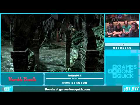 Resident Evil 4 by JTB in 1:45:35 - Summer Games Done Quick 2015 - Part 12