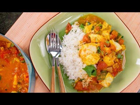 Burmese Fish & Tomato Curry Recipe แกงปลาพม่า | Asian Recipes