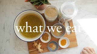 what we eat in a day ayurveda inspired