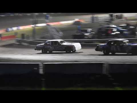 Hobby Stock A Feature Part 1 Beatrice Speedway on 06/28/2019