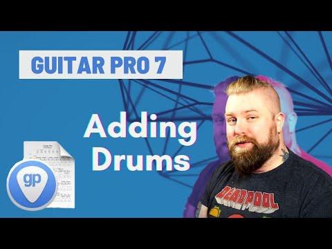 Guitar Pro 7 Tutorials Part 4 - Drum Programming & Drum Tab - Levi Clay