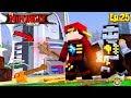 Minecraft LEGO NINJAGO - ROPO & THE NINJAGO FIND THE TECHNO BLADES!!!