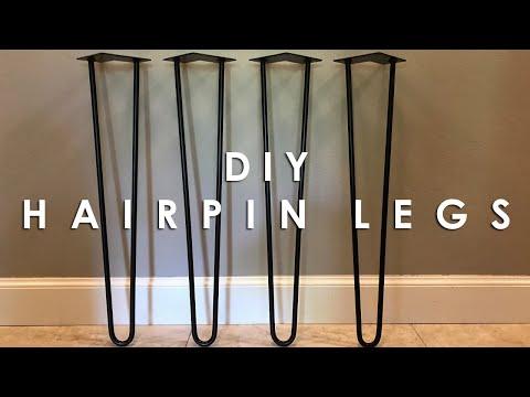 DIY Hairpin Table Legs