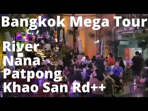 Bangkok Entertainment Areas Re-Open! July 2020 MEGA Tour!!!