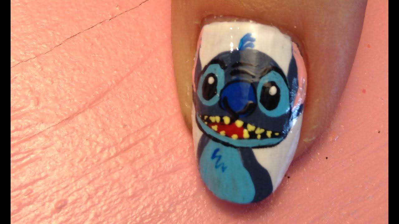 stitch nail art tutorial request