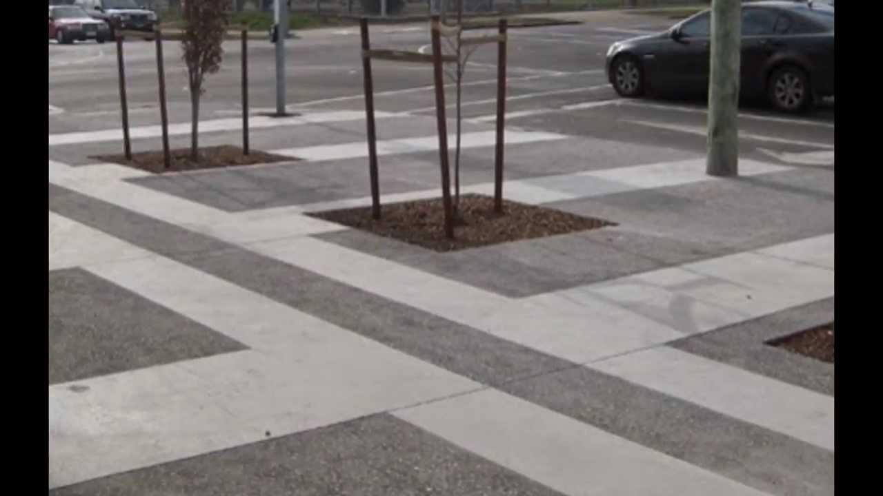 Concrete Art with Sandblasting