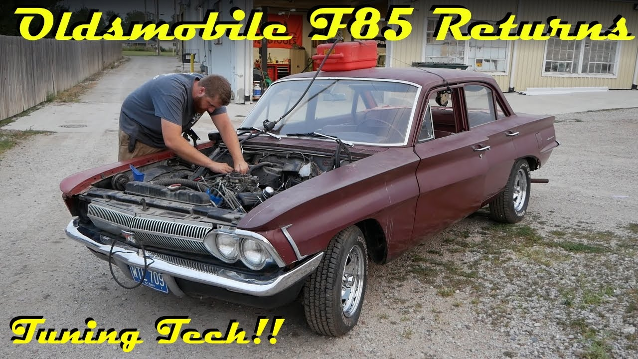 BARNFIND Oldsmobile F-85 First Start in 25 Years!! - Part 2