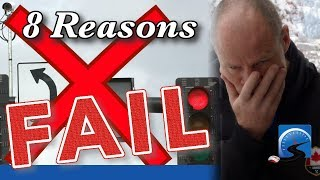 Road Test Fail - 8 Reason WHY!