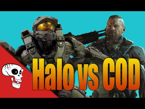 Halo 5 vs CoD Black Ops 3 Rap Battle by JT Music and VGRB