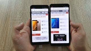 Samsung Galaxy A8 2018 VS Samsung Galaxy A8+ 2018 Обзор и Сравнение