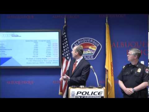 City of Albuquerque and APD - Phase Two Property Crime Initiative