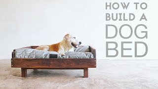 How To Build a Mid Century Modern Dog Bed | Modern Builds | EP. 72 | DIY