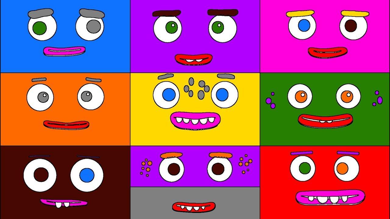 Big Block Sing Song Crazy Nine Coloring Book