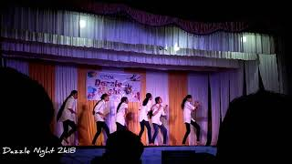 Akkare nikkana chakkaramavil remix dance by CCYM Girlz on Dazzle Night 2k18