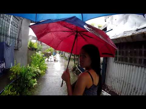 House flood Typhoon Jolina Philippines Expats