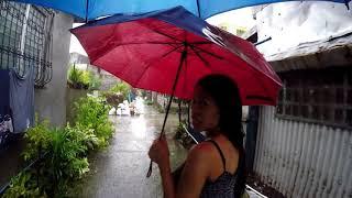 House flood Typhoon Jolina Philippines Expats