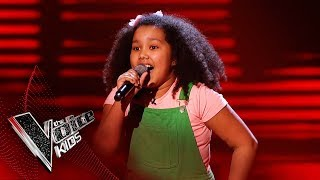 Rosa Performs 'Waka Waka (This Time For Africa)'   Blind Auditions   The Voice Kids UK 2019