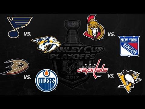 2017 Stanley Cup Playoffs - Round 2 - All Goals