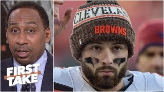 Baker Mayfield should be happy with Browns fans' support - Stephen A. | First Take