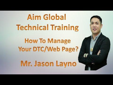 Aim GLobal  Technical Traning By Jayson Layno 2017 HD