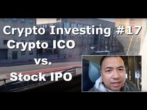 Crypto Investing #17 - What Is An Initial Coin Offering (ICO) vs. A Stock IPO? - By Tai Zen