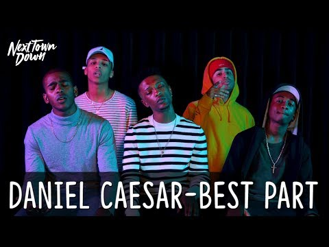 DANIEL CAESAR - BEST PART - Next Town Down Cover