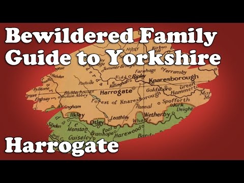 Bewildered Family Guide to Yorkshire - Harrogate