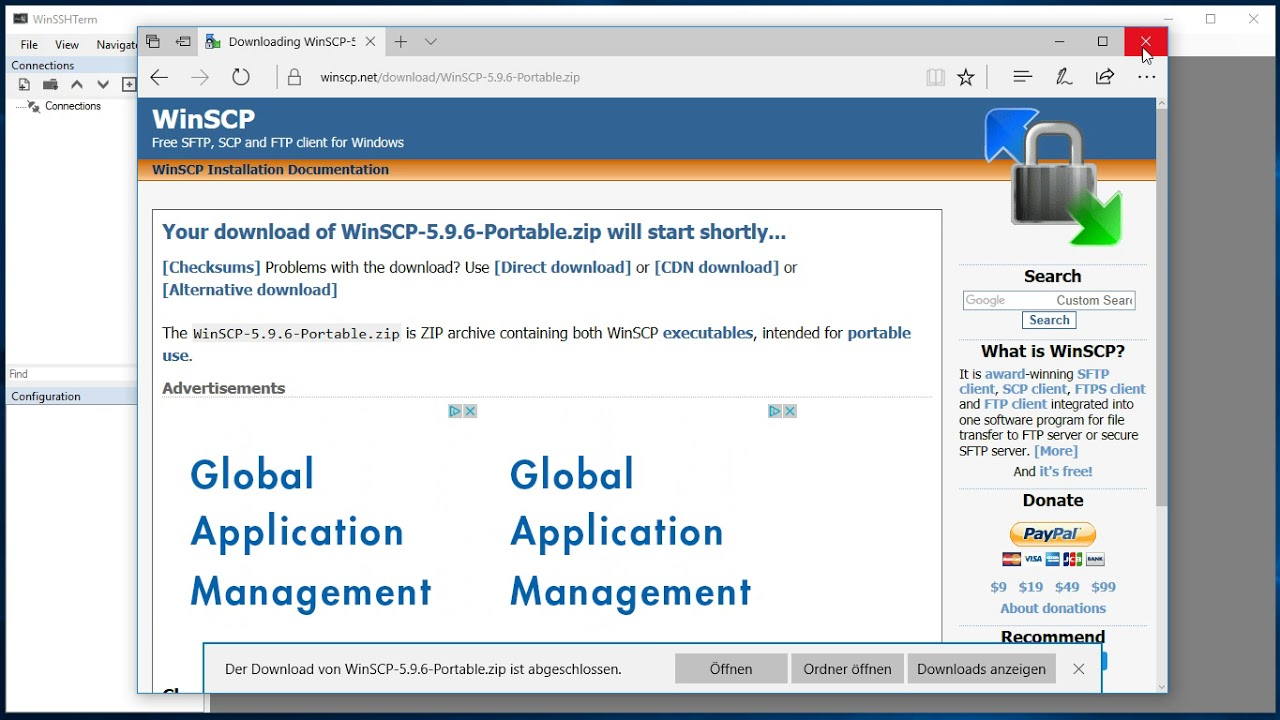 WinSSHTerm - Page 2 - The Portable Freeware Collection Forums