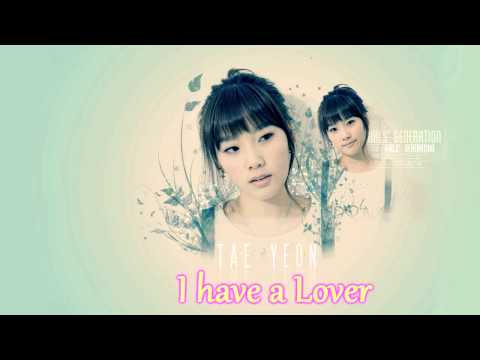 SNSD Taeyeon  I have a Lover)