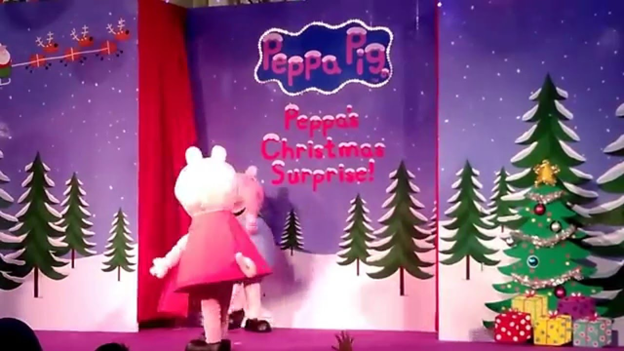 Peppa Pig Meet And Greet Show Live Singapore One Km Mall Youtube