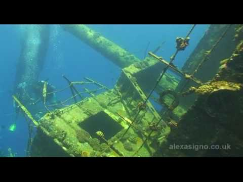 Scuba Diving the Giannis D ship wreck in the Red Sea, Egypt