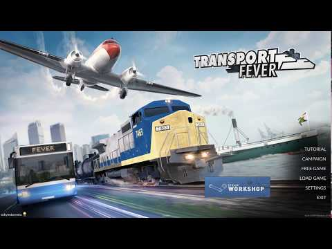 Transport Fever Let's Play / Gameplay Part 1 ►Europe 1850 Sandbox!◀